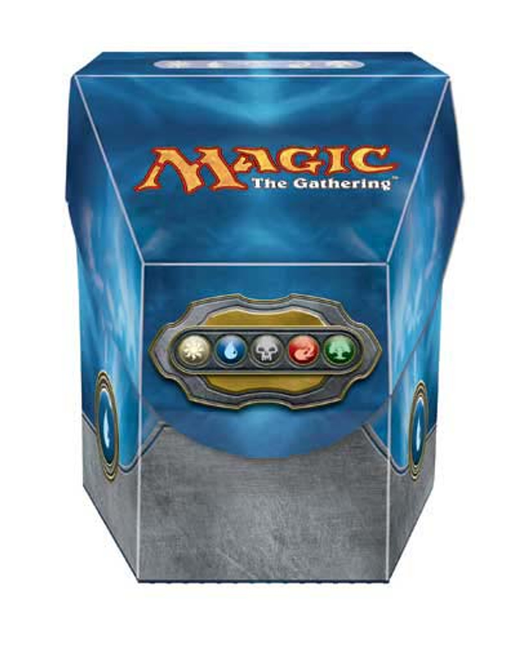 Deck Box, ProHex - Magic: The Gathering - Commander - Blue