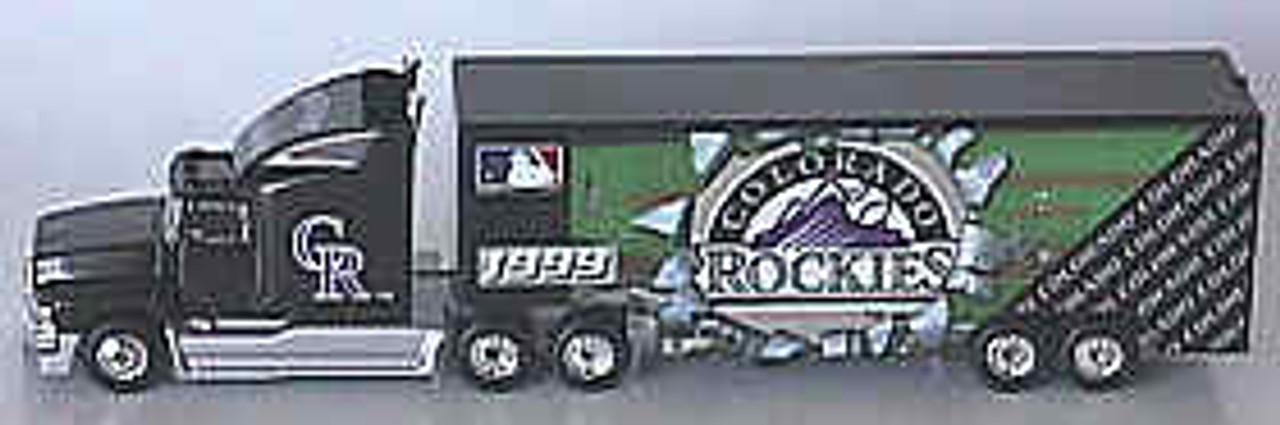 Colorado Rockies White Rose 1999 Tractor Trailer