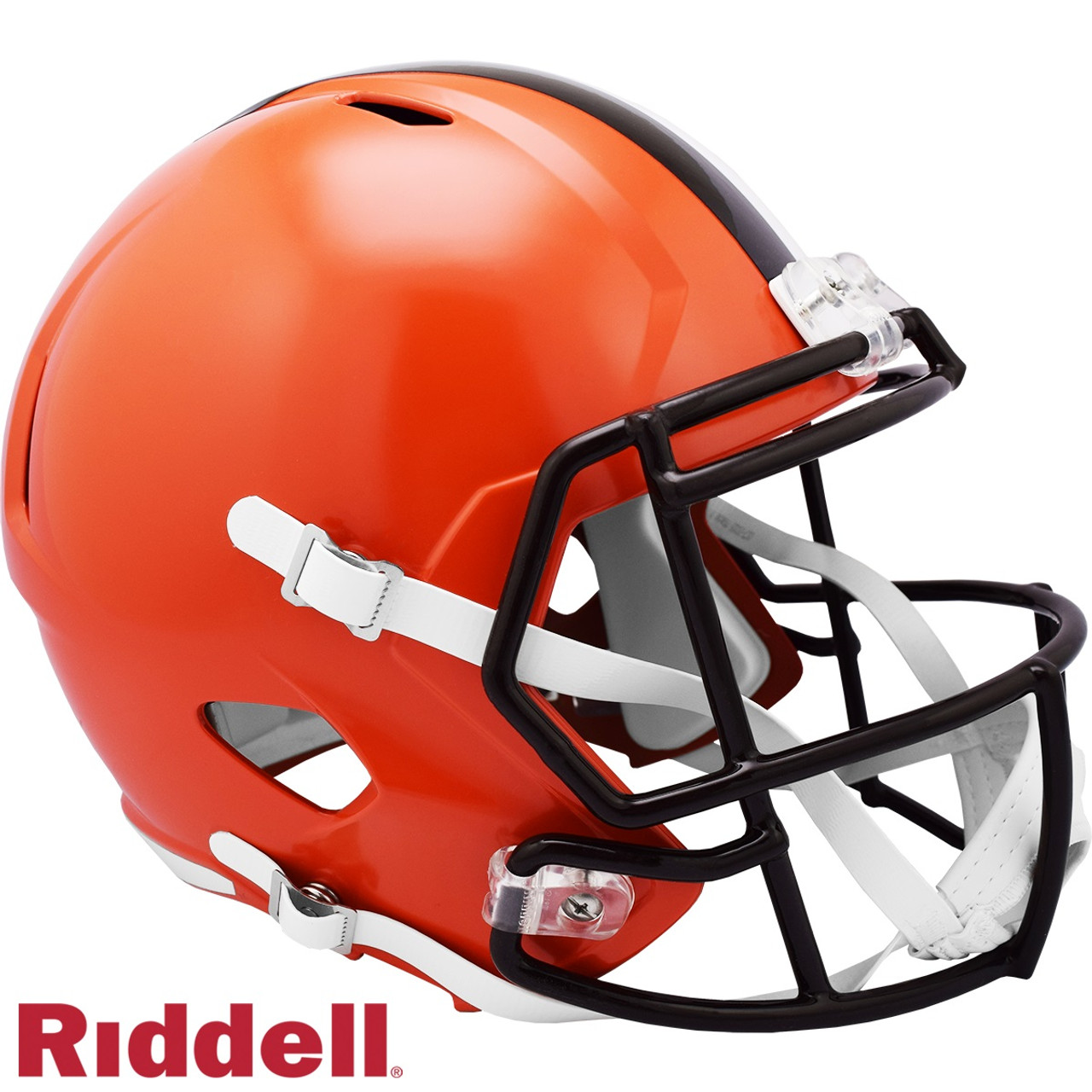 Cleveland Browns Helmet Riddell Replica Full Size Speed Style 2020