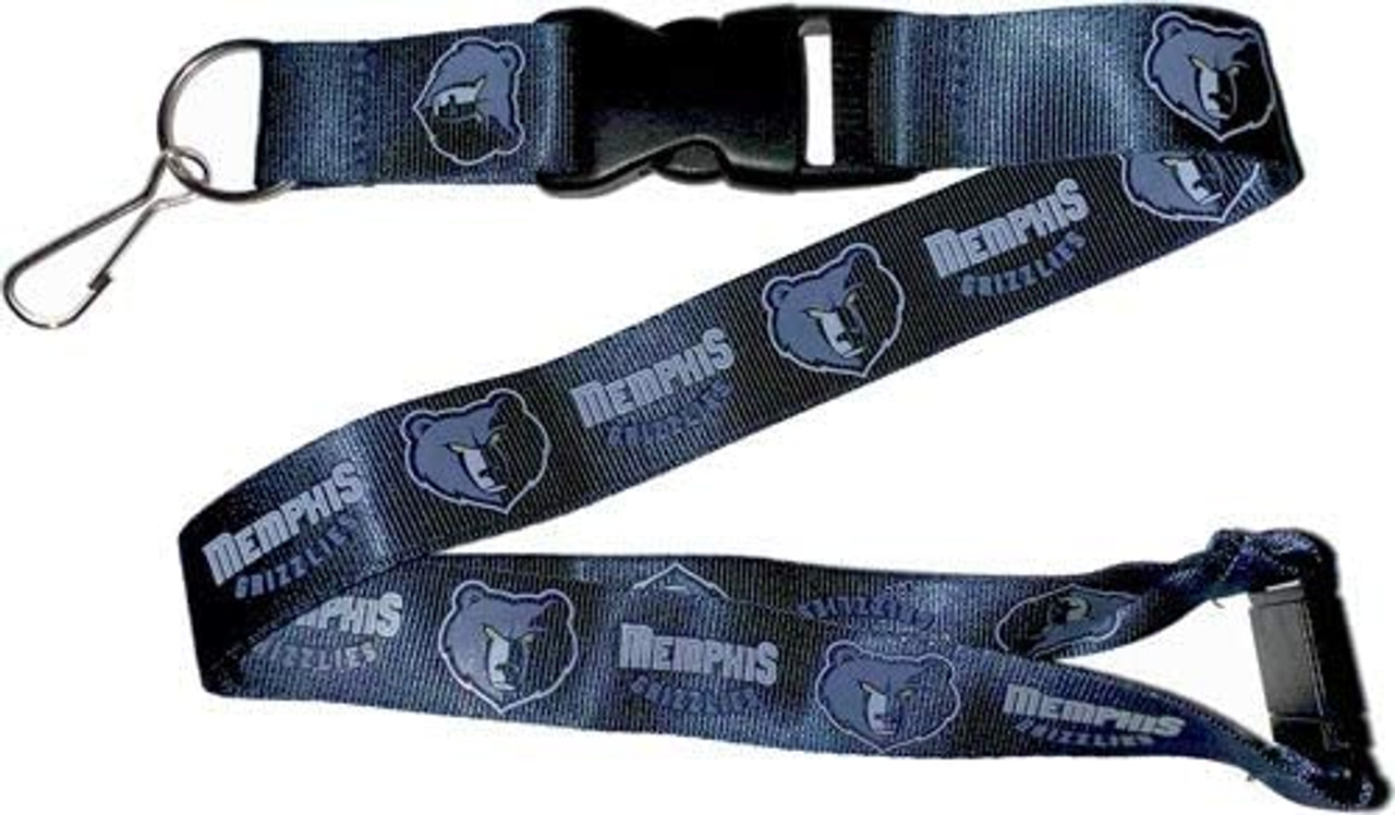 Memphis Grizzlies Lanyard Dark Blue Special Order