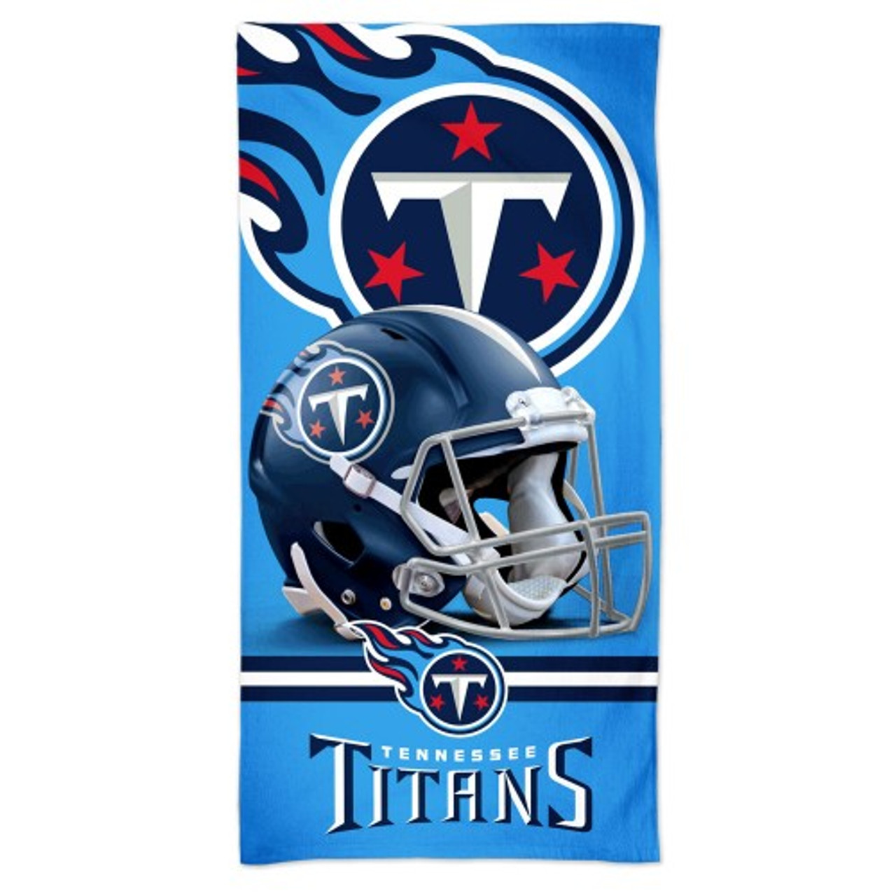 Tennessee Titans Towel 30x60 Beach Style Spectra Special Order