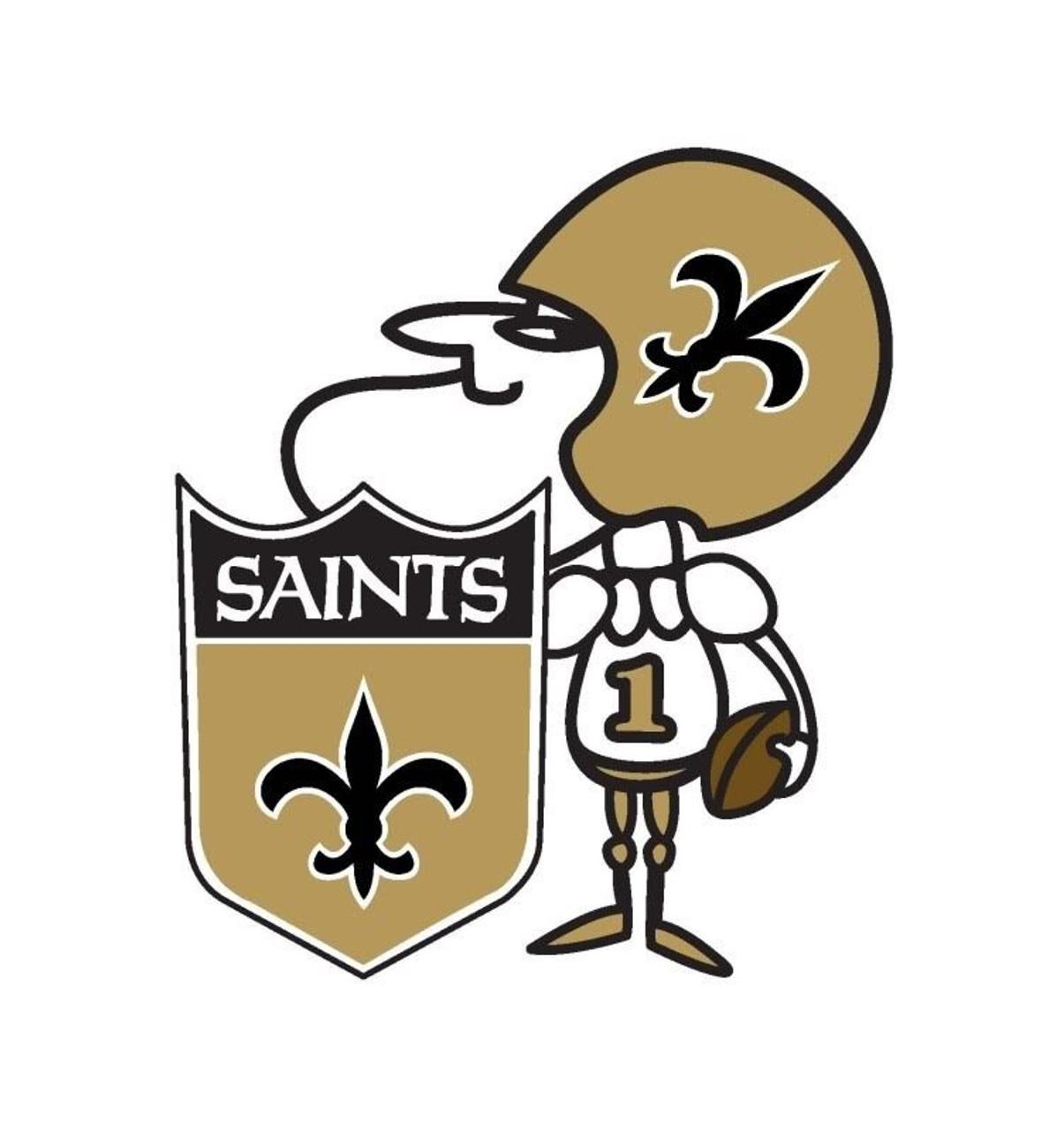 New Orleans Saints Auto Emblem Color Sir Saint Design