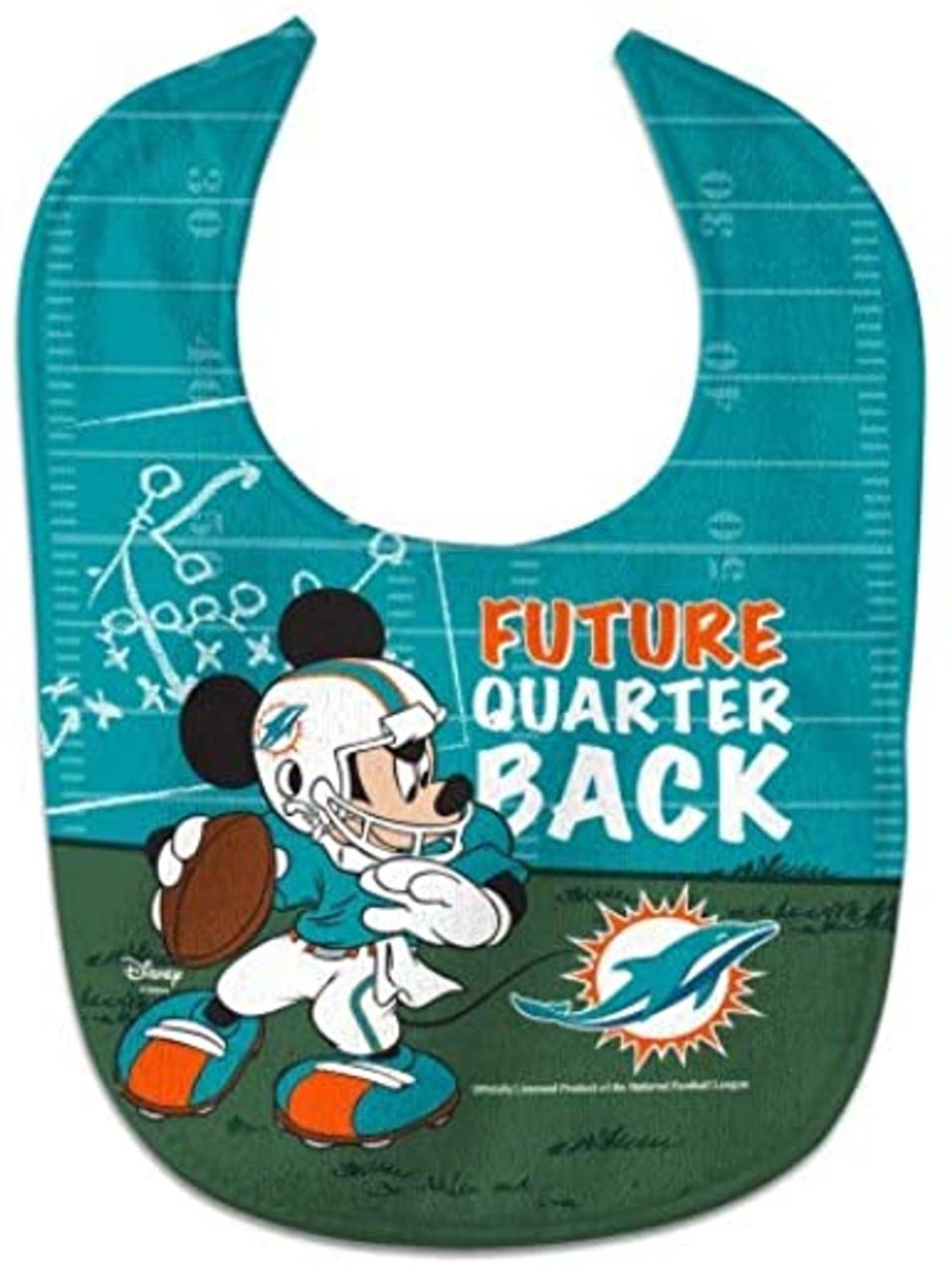 Miami Dolphins Baby Bib All Pro Future Quarterback - Special Order
