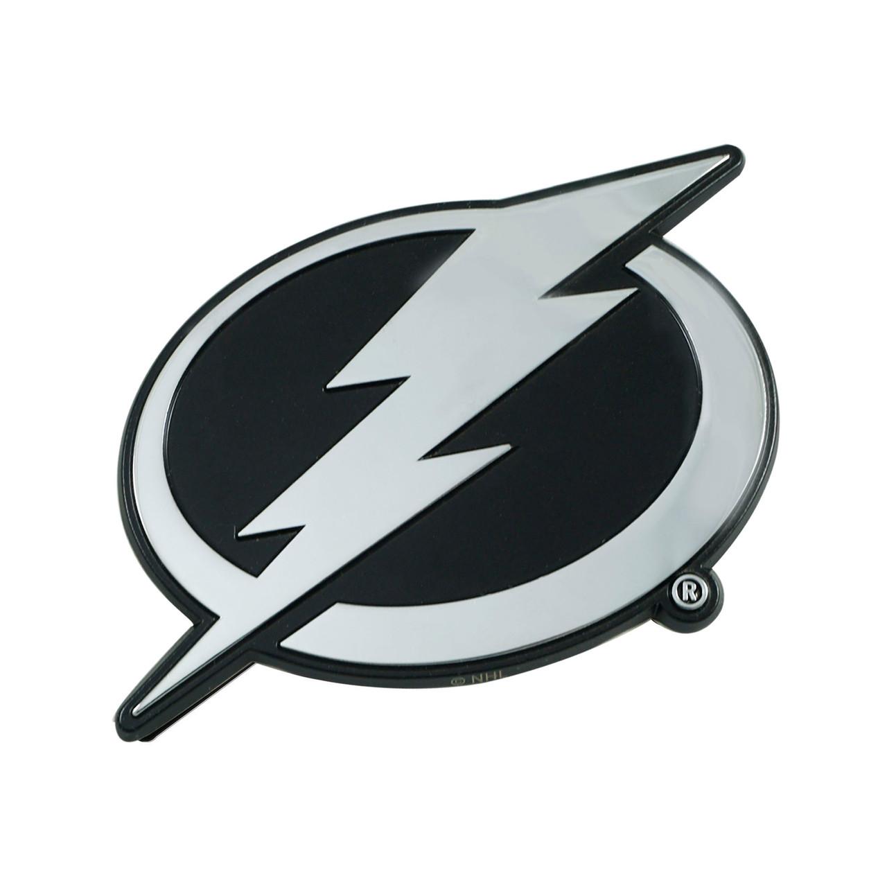 Tampa Bay Lightning Auto Emblem Premium Metal Chrome Special Order