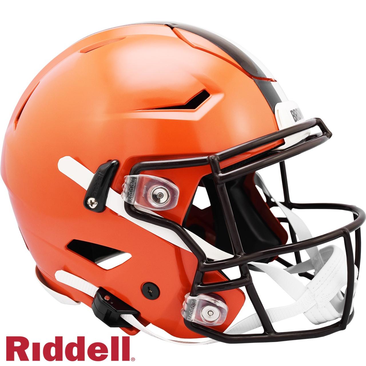 Cleveland Browns Helmet Riddell Authentic Full Size SpeedFlex Style 2020
