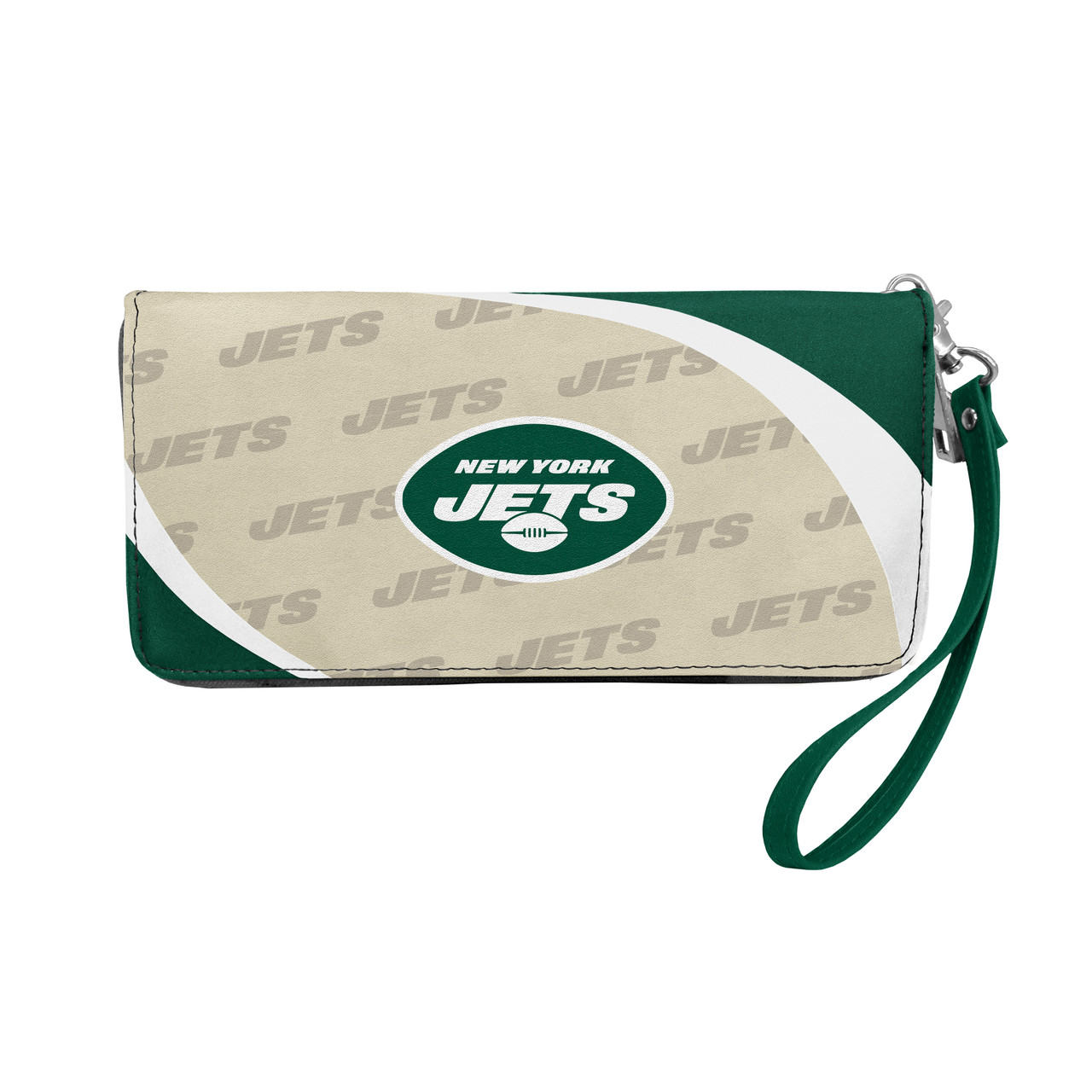 New York Jets Wallet Curve Organizer Style Alternate