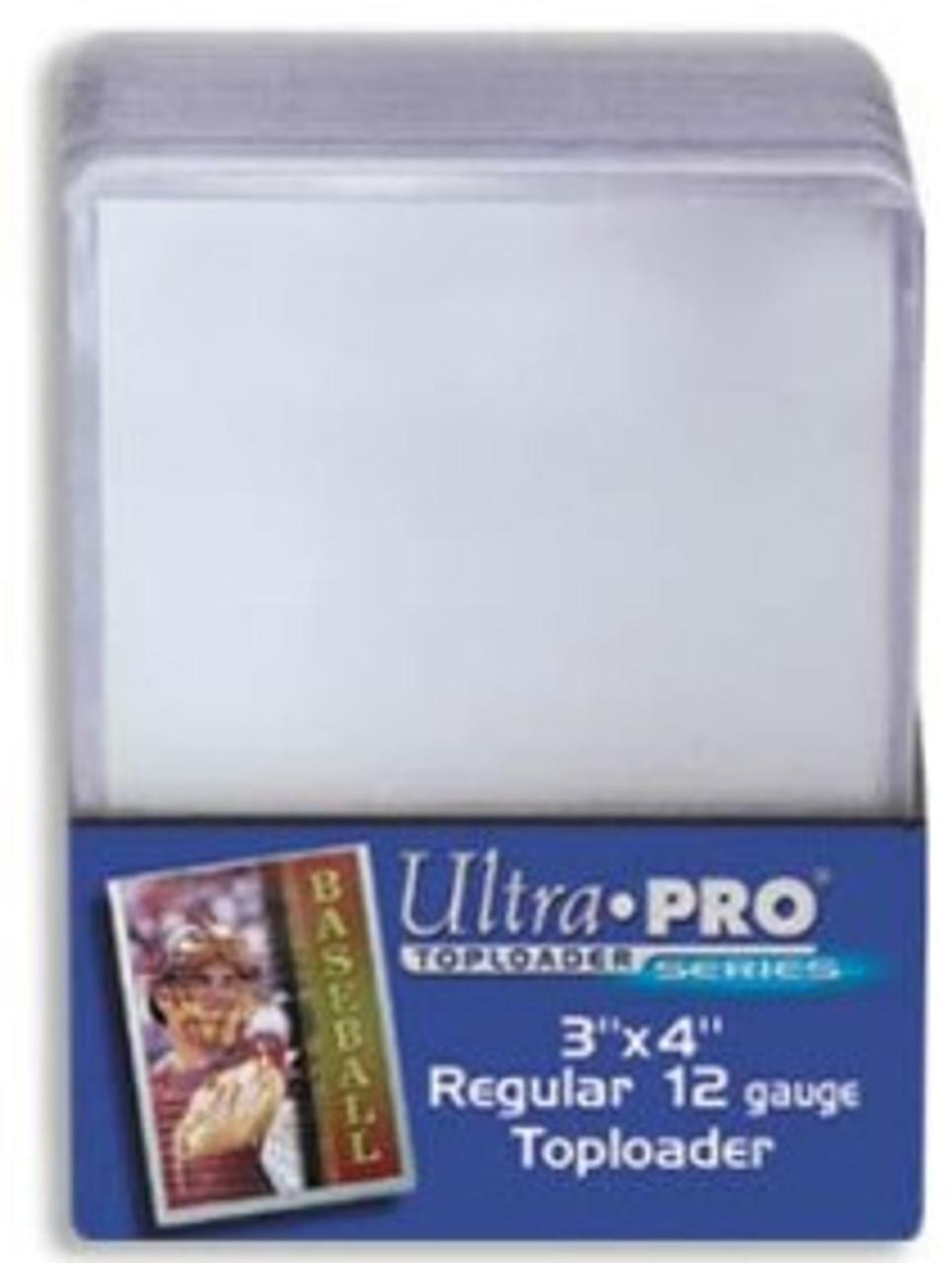 Top Loader - 3x4 Clear Regular (25 per pack)