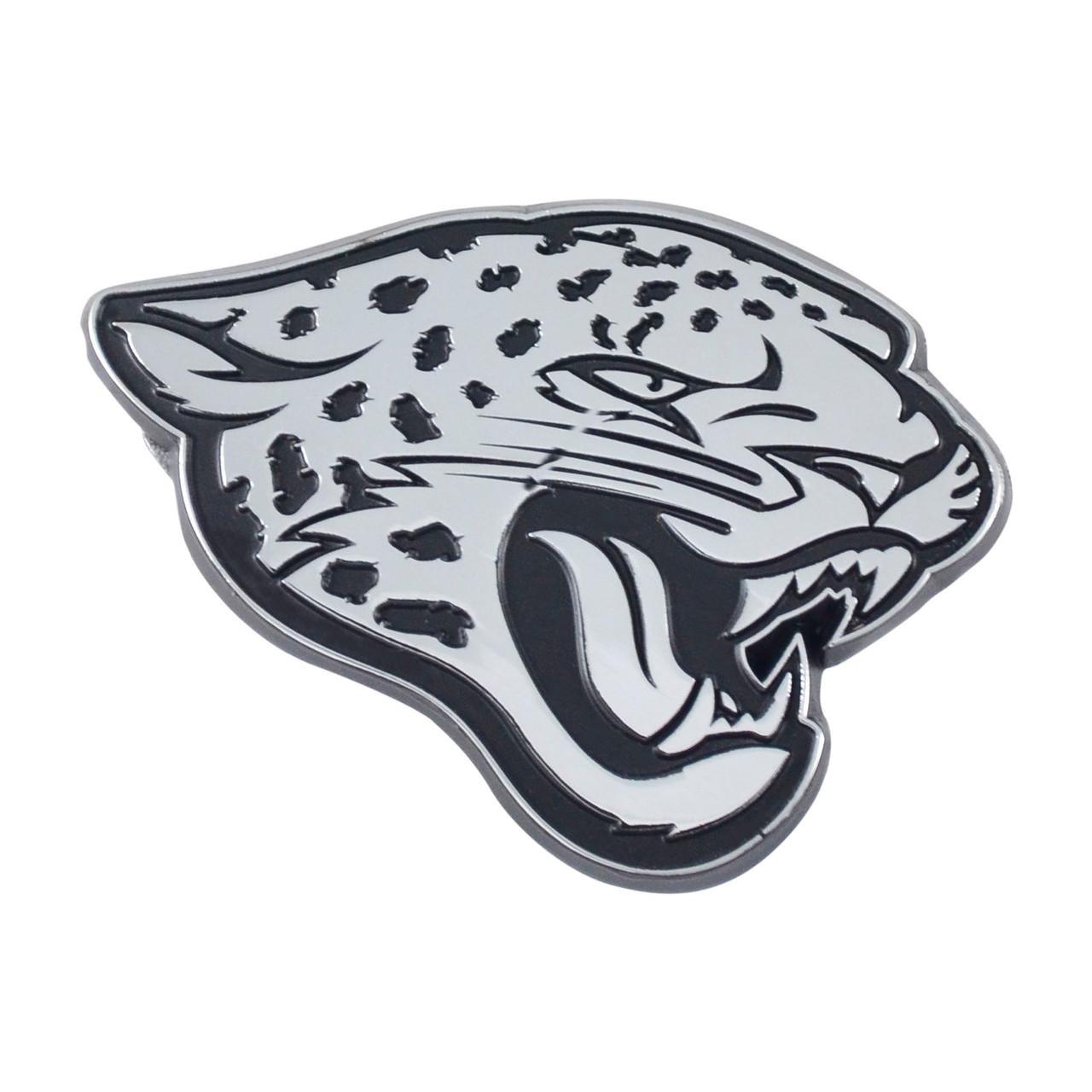 Jacksonville Jaguars Auto Emblem Premium Metal Chrome