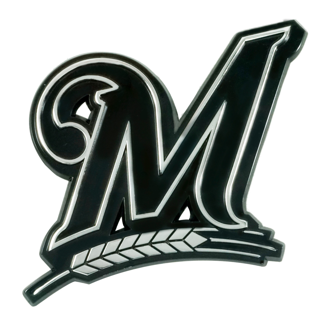 Milwaukee Brewers Auto Emblem Premium Metal Chrome Special Order