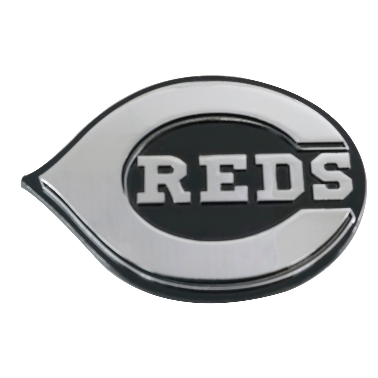 Cincinnati Reds Auto Emblem Premium Metal Chrome Special Order
