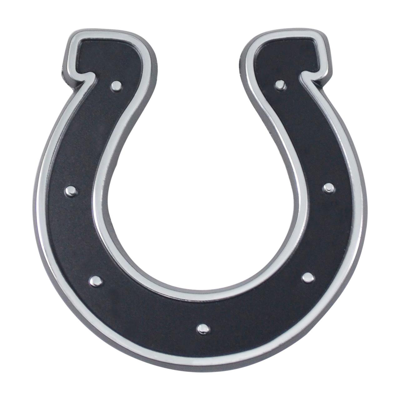 Indianapolis Colts Auto Emblem Premium Metal Chrome