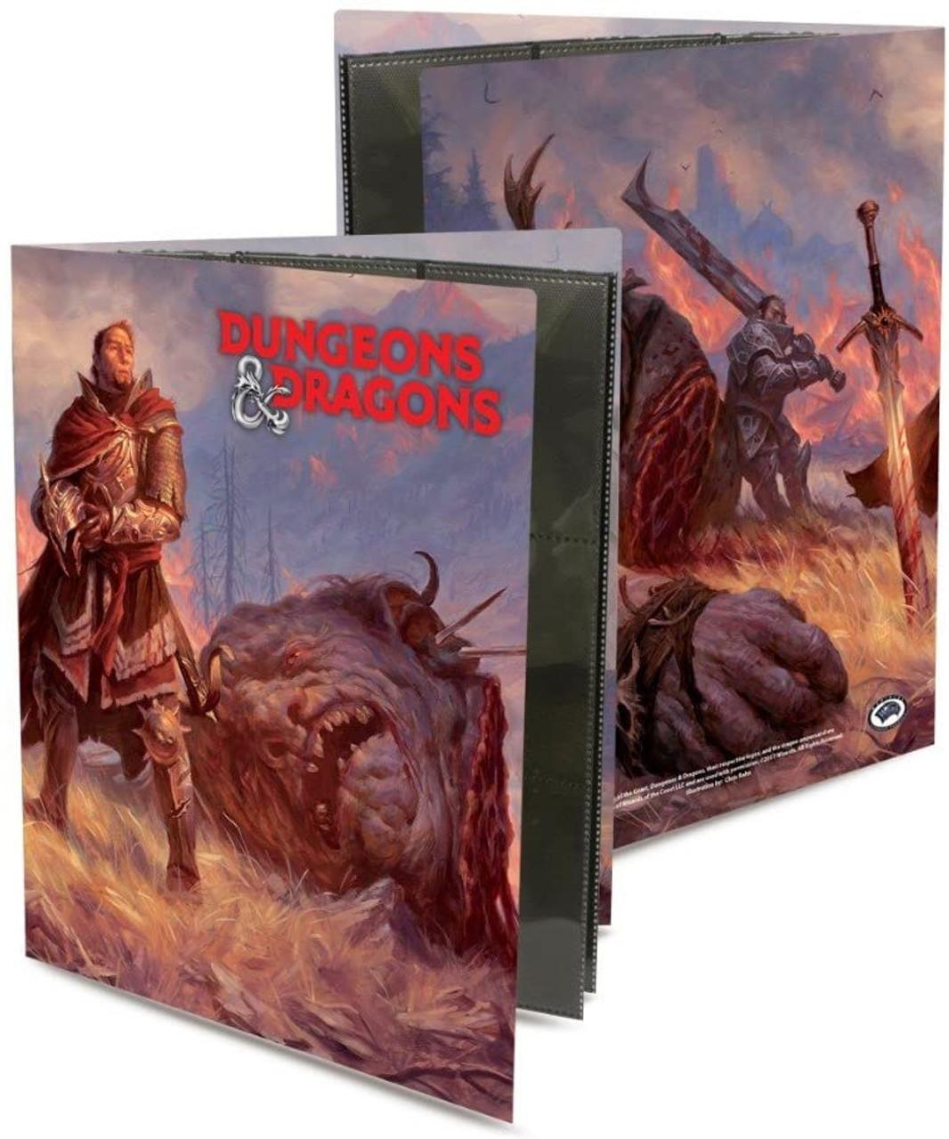 Dungeons & Dragons 9 Pocket Portfolio - Giant Killer - Special Order