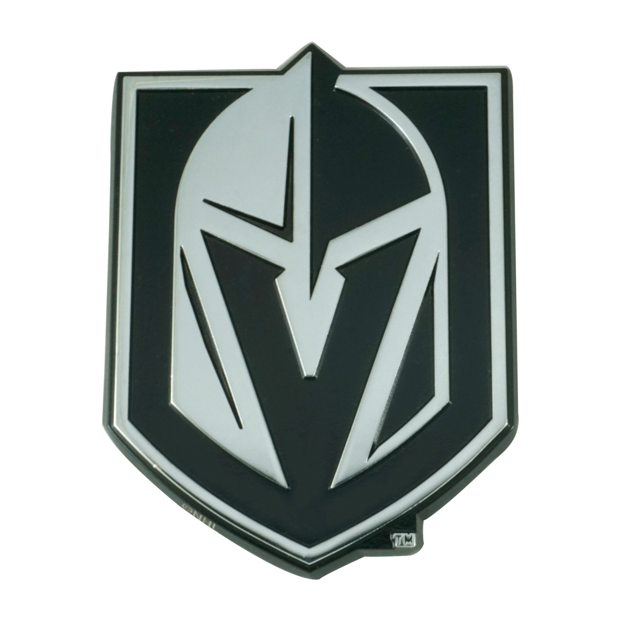 Vegas Golden Knights Auto Emblem Premium Metal Chrome Special Order