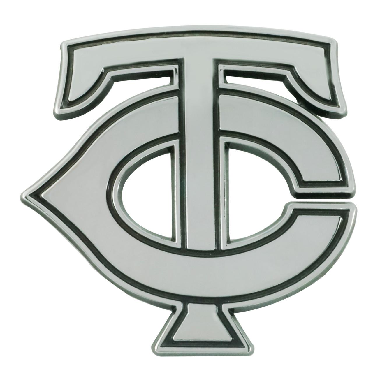 Minnesota Twins Auto Emblem Premium Metal Chrome Special Order