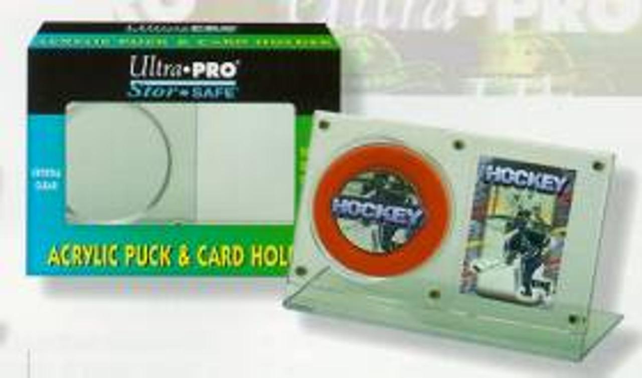 Puck & Card Holder - Acrylic