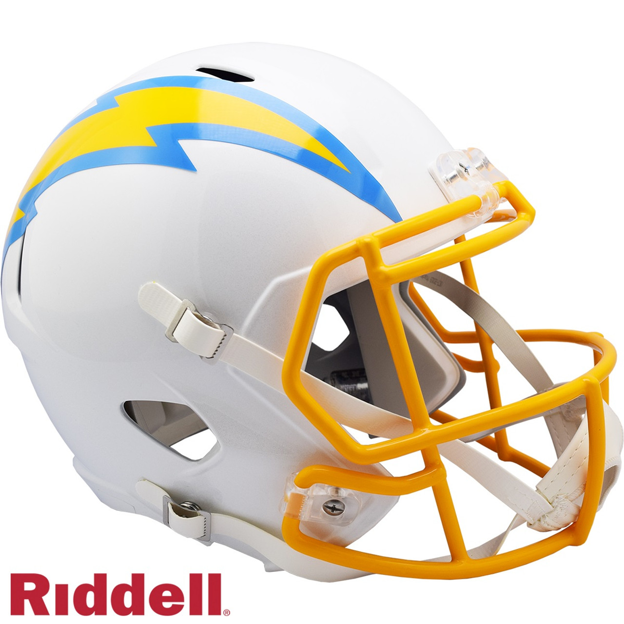 Los Angeles Chargers Helmet Riddell Replica Full Size Speed Style 2020