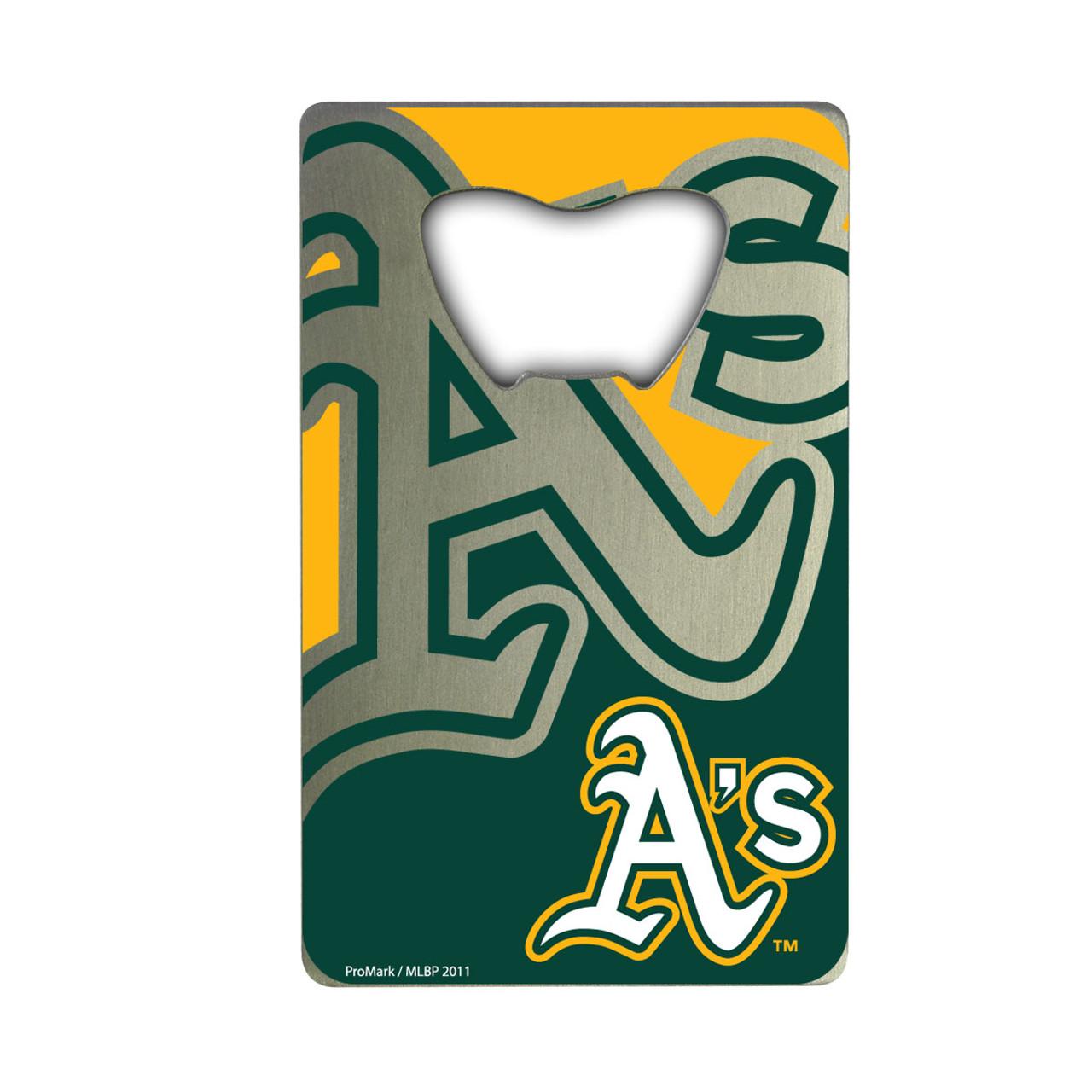 Oakland Athletics Bottle Opener Credit Card Style - Special Order