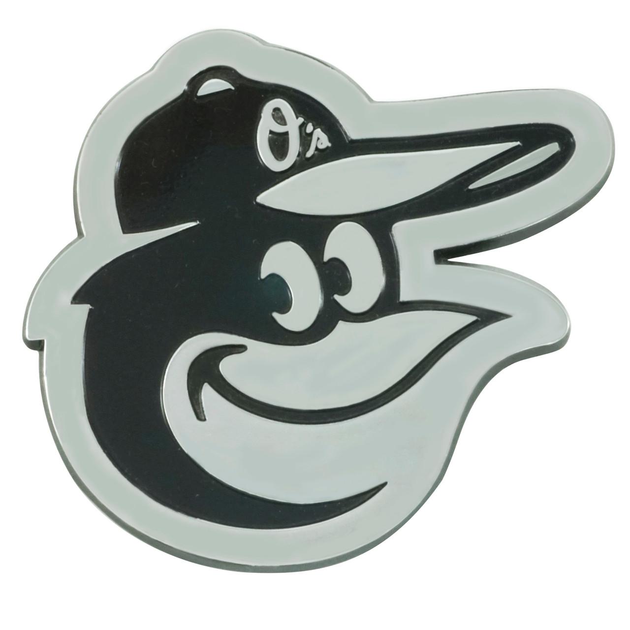 Baltimore Orioles Auto Emblem Premium Metal Chrome