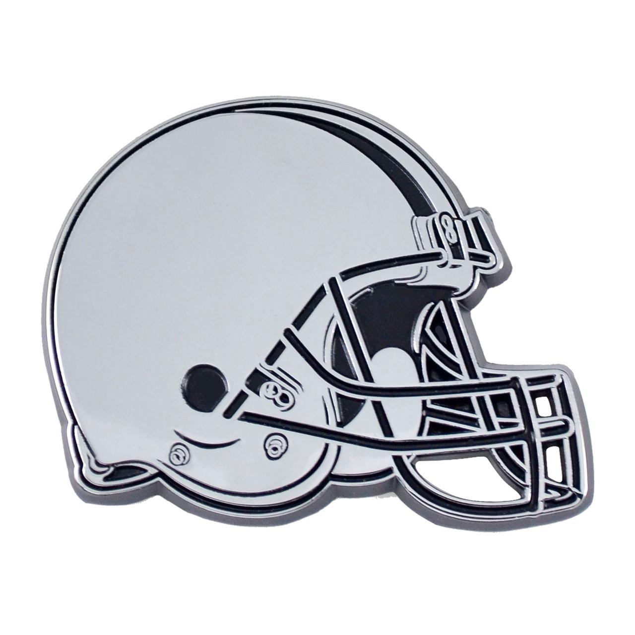 Cleveland Browns Auto Emblem Premium Metal Chrome
