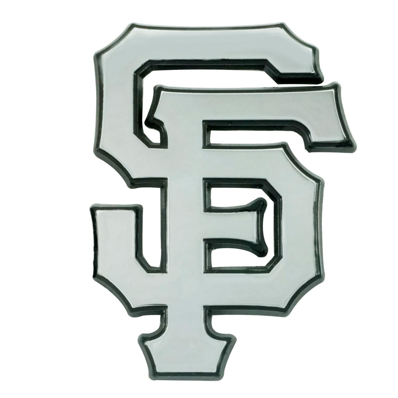 San Francisco Giants Auto Emblem Premium Metal Chrome