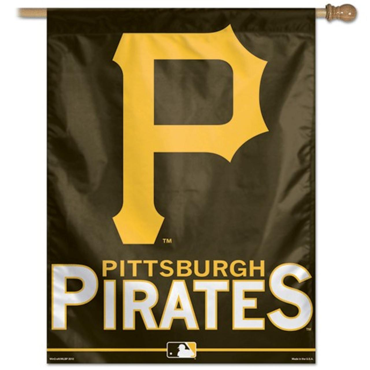 Pittsburgh Pirates Banner 27x37 Vertical