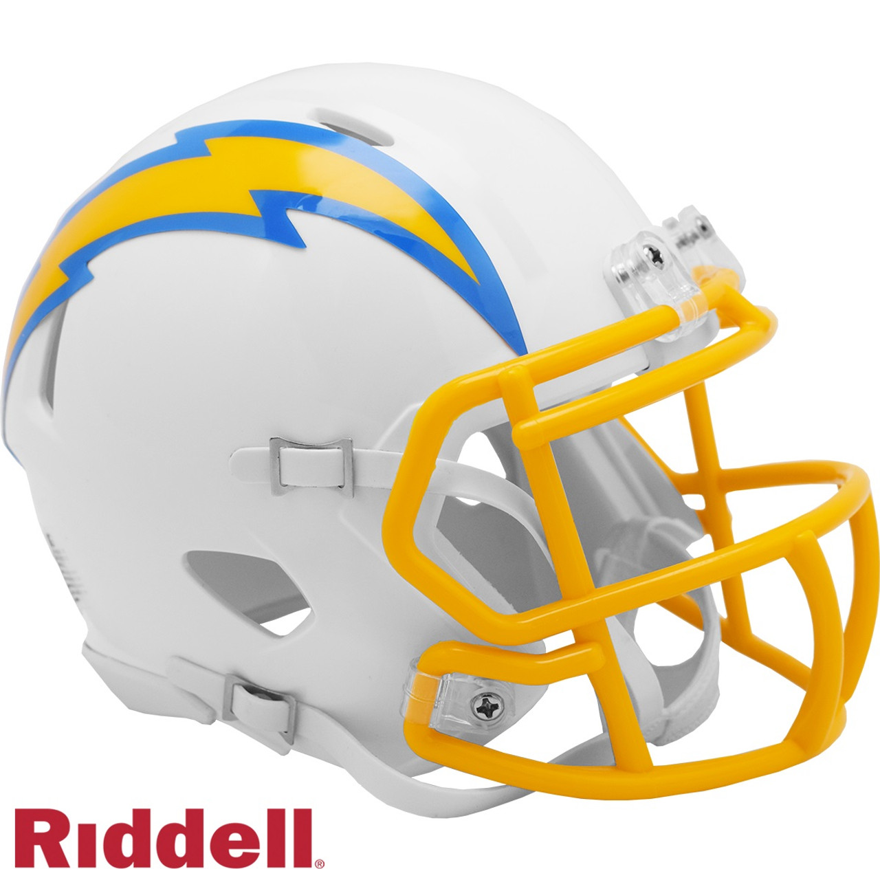 Los Angeles Chargers Helmet Riddell Replica Mini Speed Style 2020