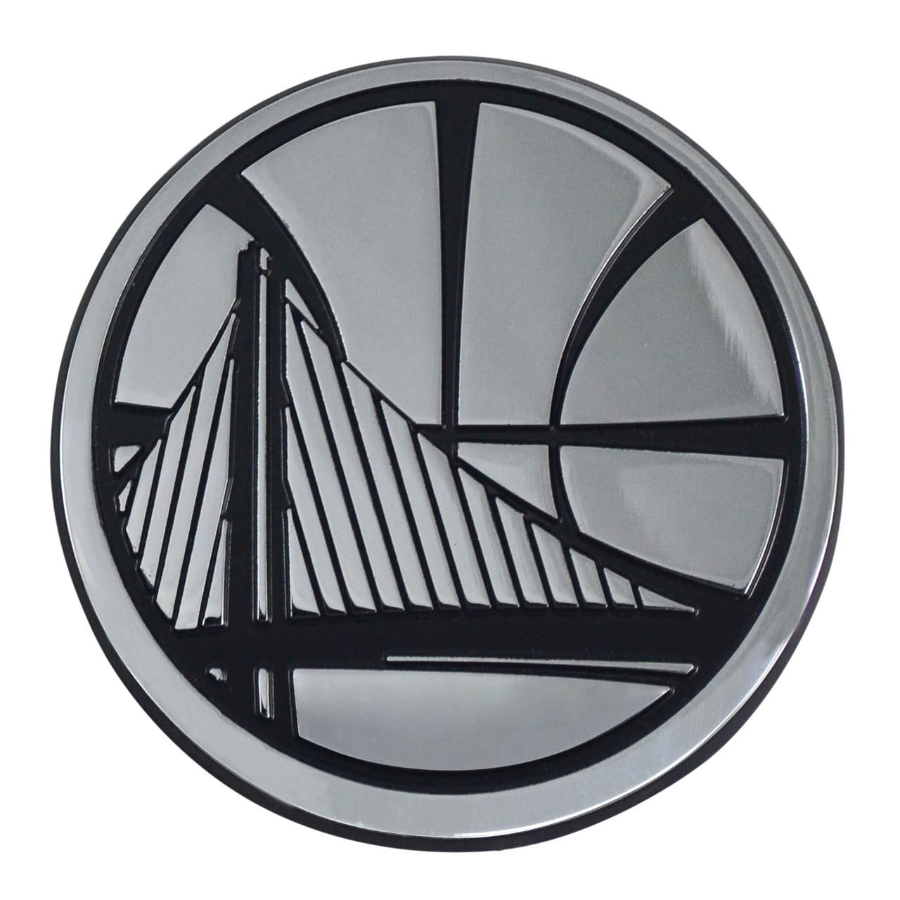 Golden State Warriors Auto Emblem Premium Metal Chrome Special Order
