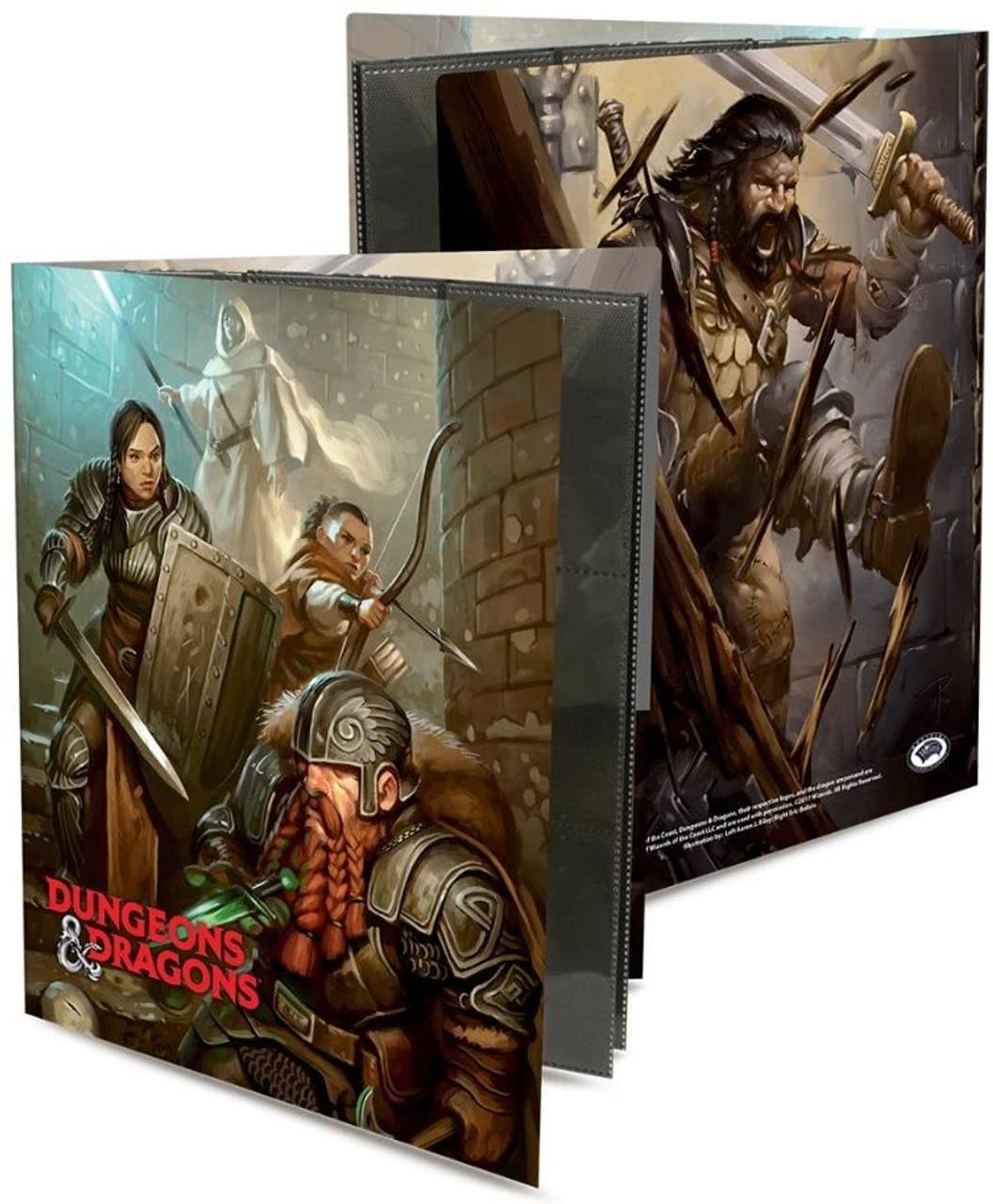 Dungeons & Dragons 9 Pocket Portfolio - Dungeon Crawl - Special Order