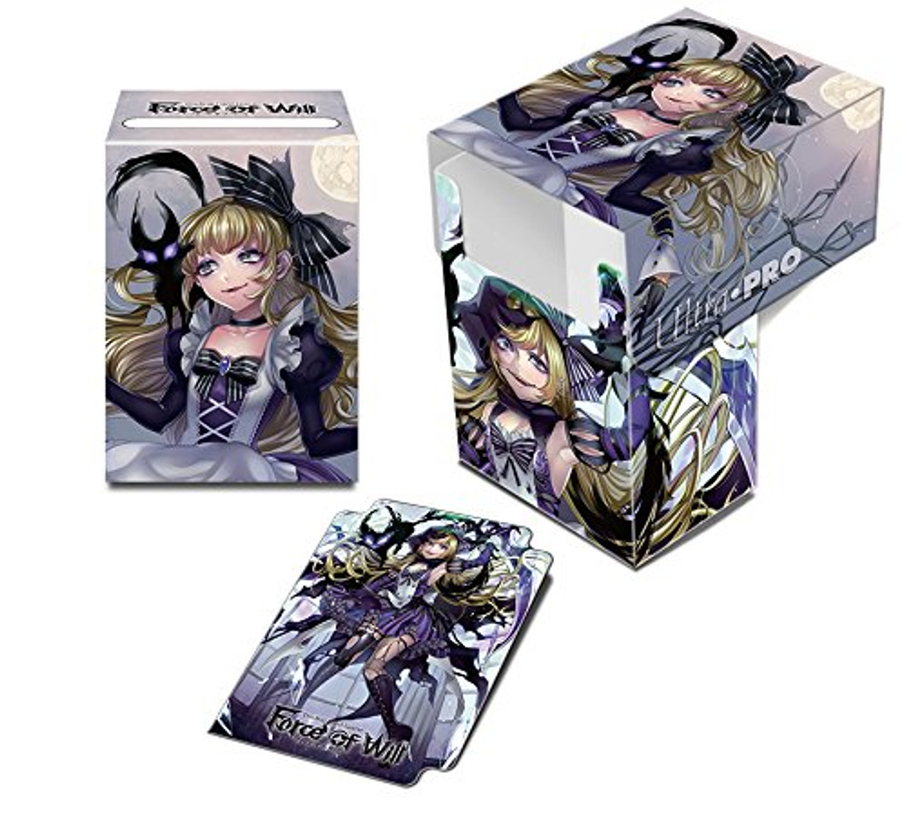 Deck Box - Force of Will (60/cs) - Dark Alice - - Special Order