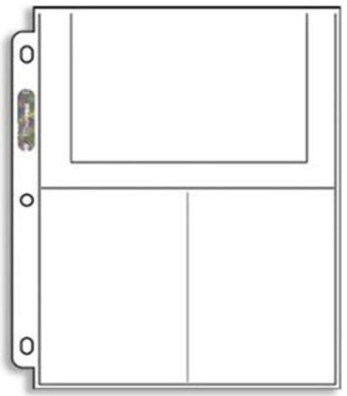 Ultra Pro 3-Pocket Postcard Pages 246D (100ct)
