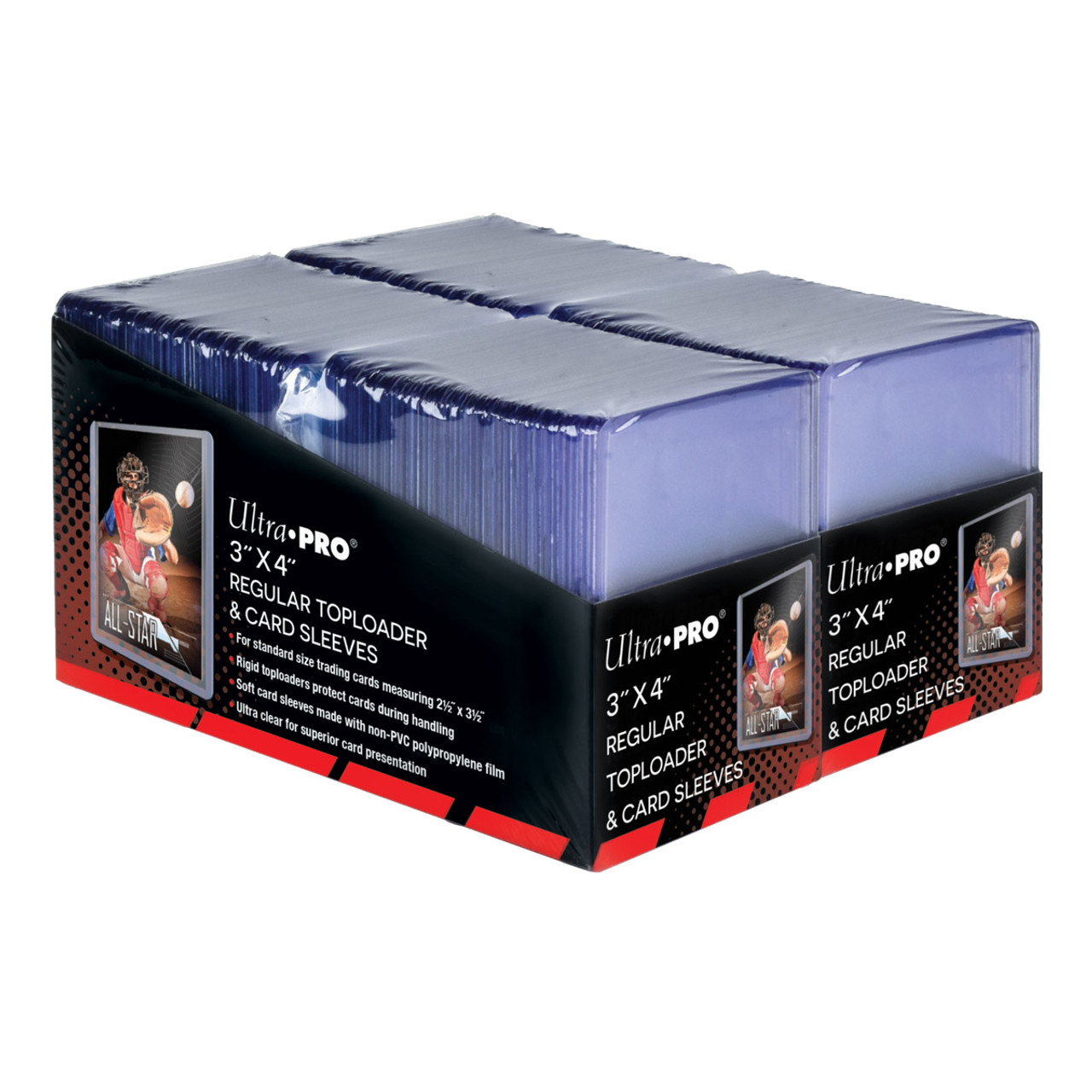 Top Loader - 3x4 Regular and Card Sleeves (200 per pack)