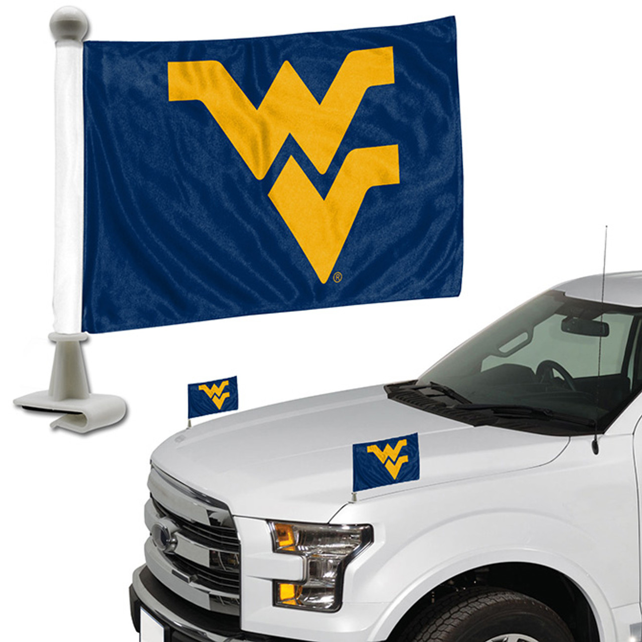 NCAA West Virginia Mountaineers Tailgater Hitch Cover