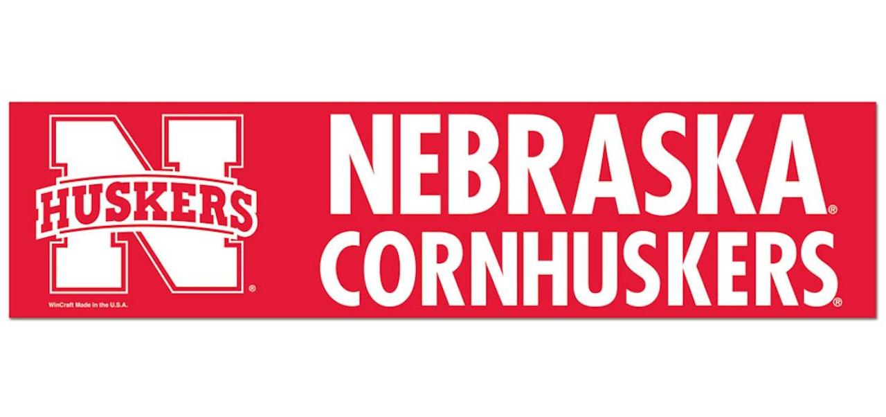 aminco Nebraska Cornhuskers Lanyard Breakaway Style Slogan Design