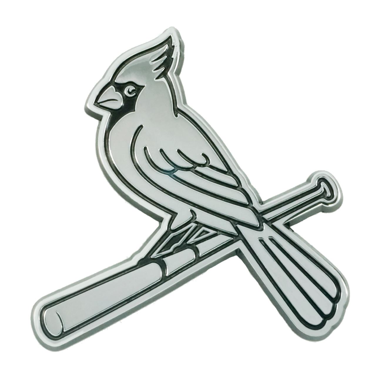 St. Louis Cardinals Auto Emblem Premium Metal Chrome