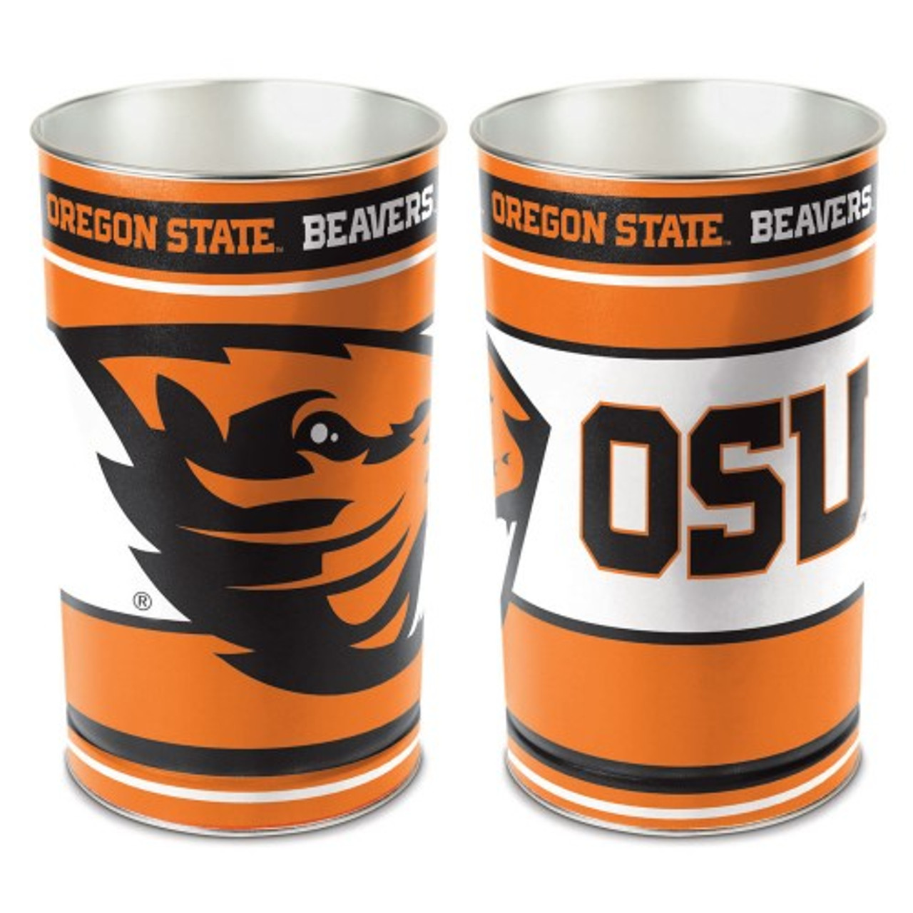 Oregon State Beavers Wastebasket 15 Inch Special Order