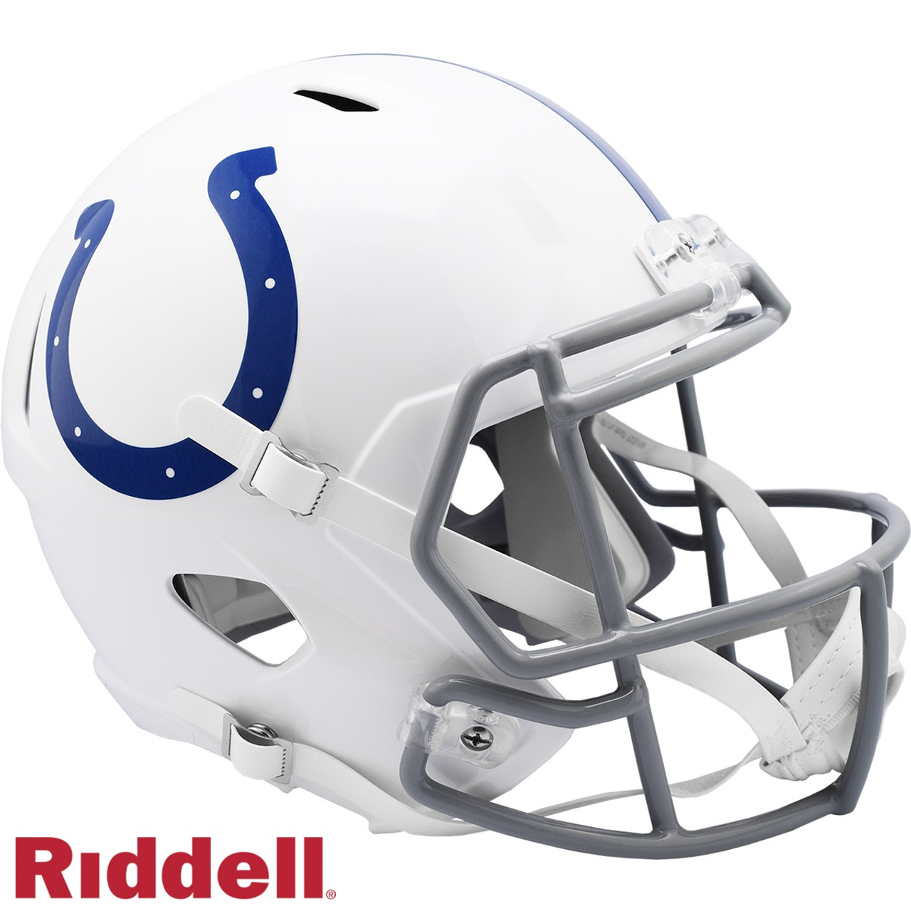 Indianapolis Colts Helmet Riddell Replica Full Size Speed Style 2020