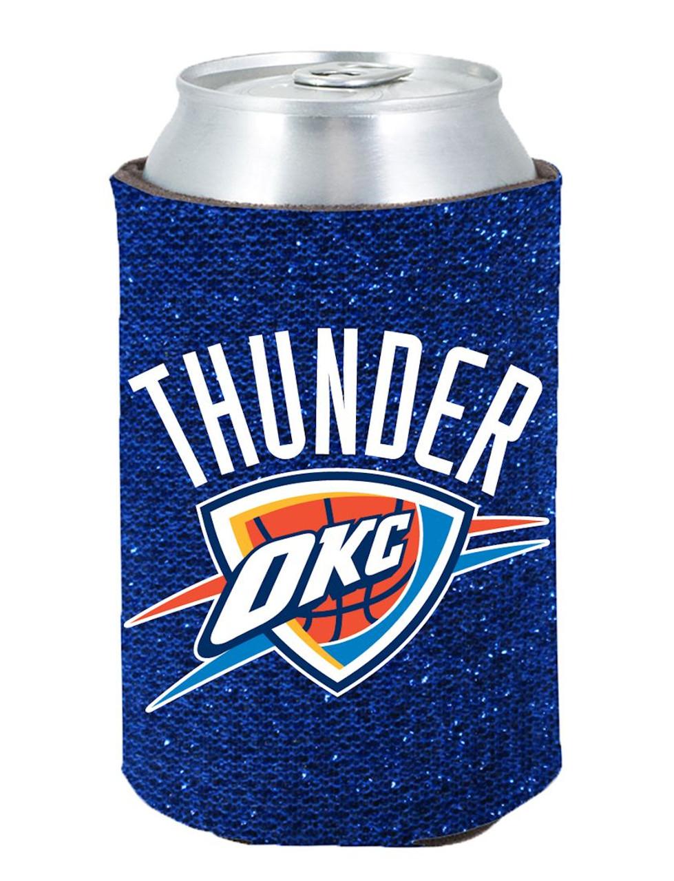 Oklahoma City Thunder Kolder Kaddy Can Holder Glitter Blue Special Order