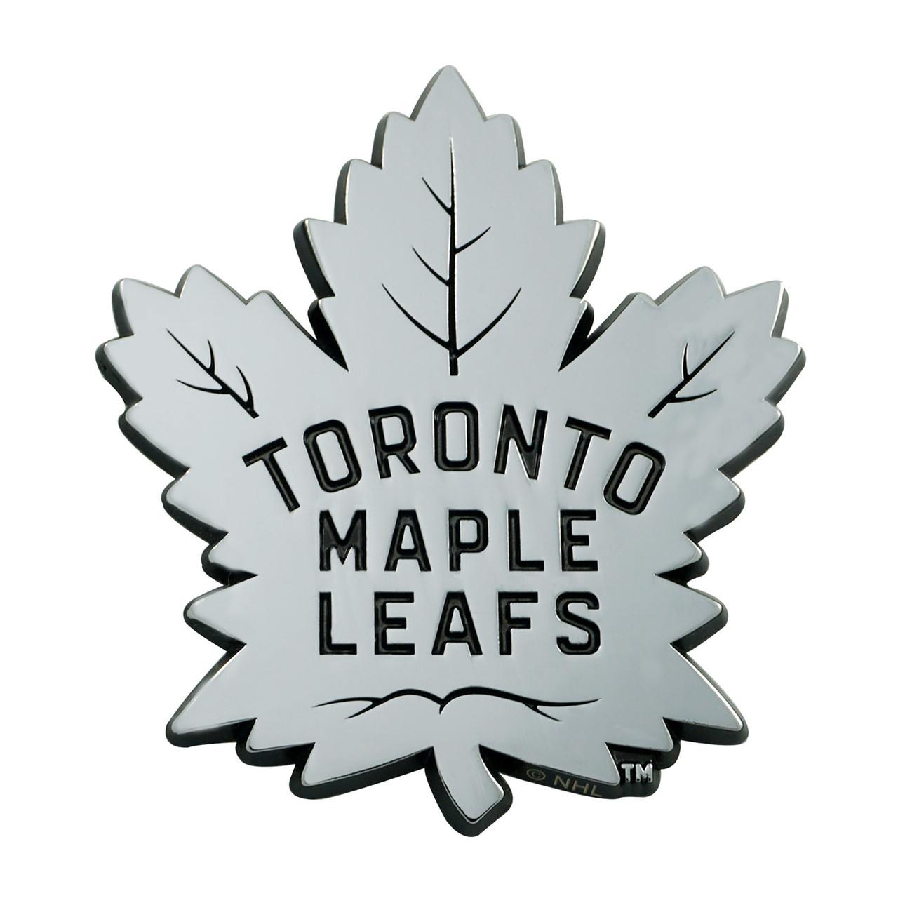 Toronto Maple Leafs Auto Emblem Premium Metal Chrome Special Order