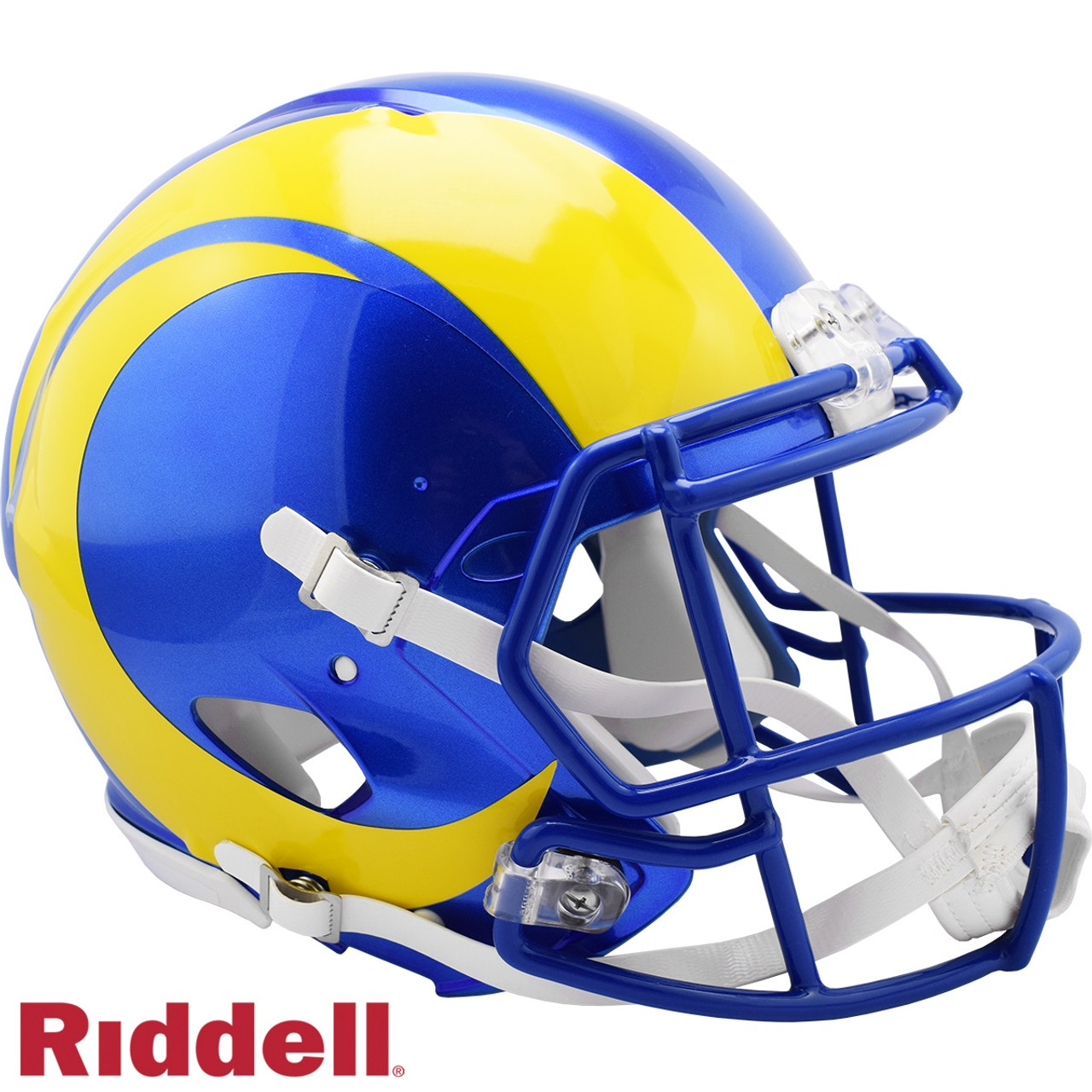 Los Angeles Rams Helmet Riddell Authentic Full Size Speed Style 2020