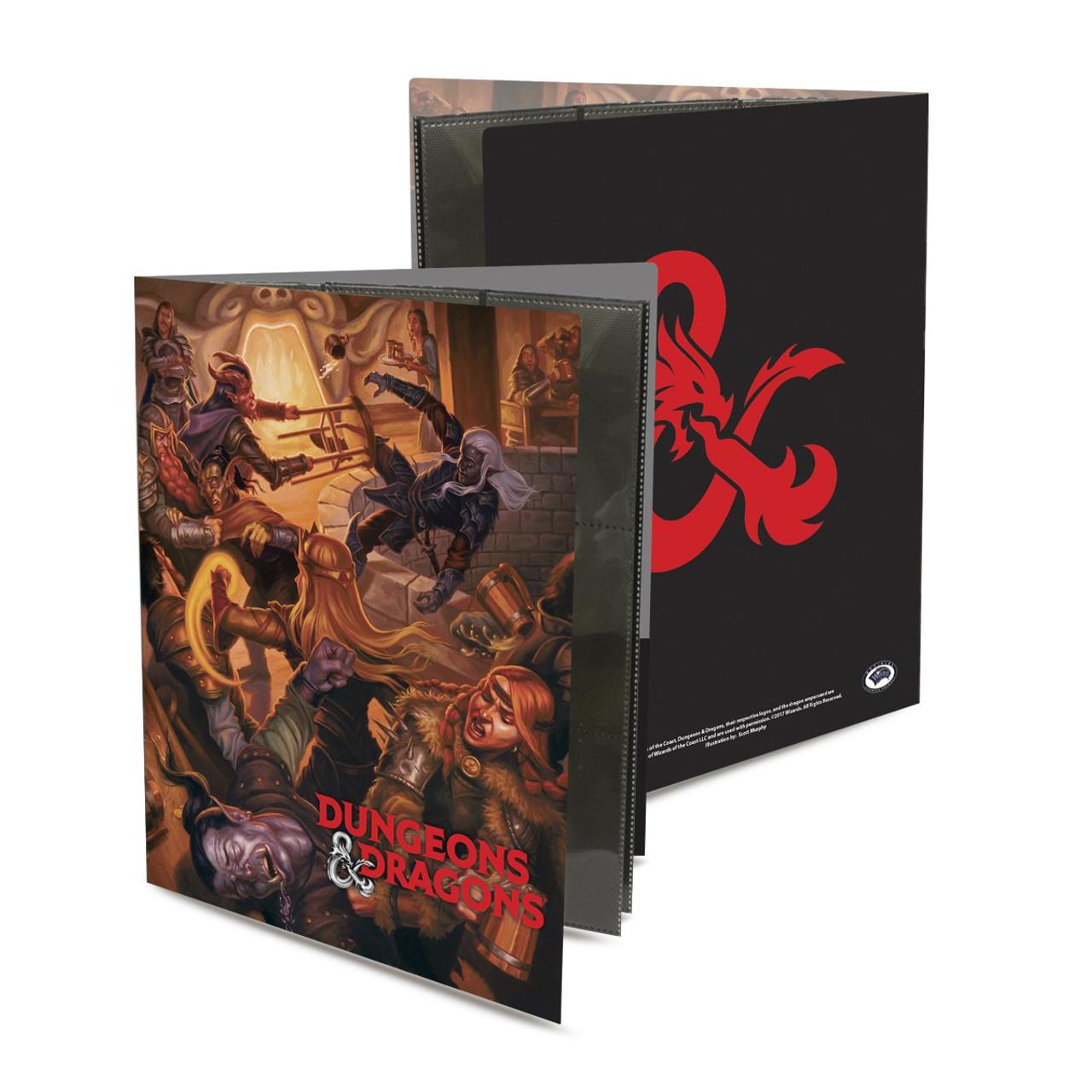Dungeons & Dragons 9 Pocket Portfolio - Tavern Brawl - Special Order