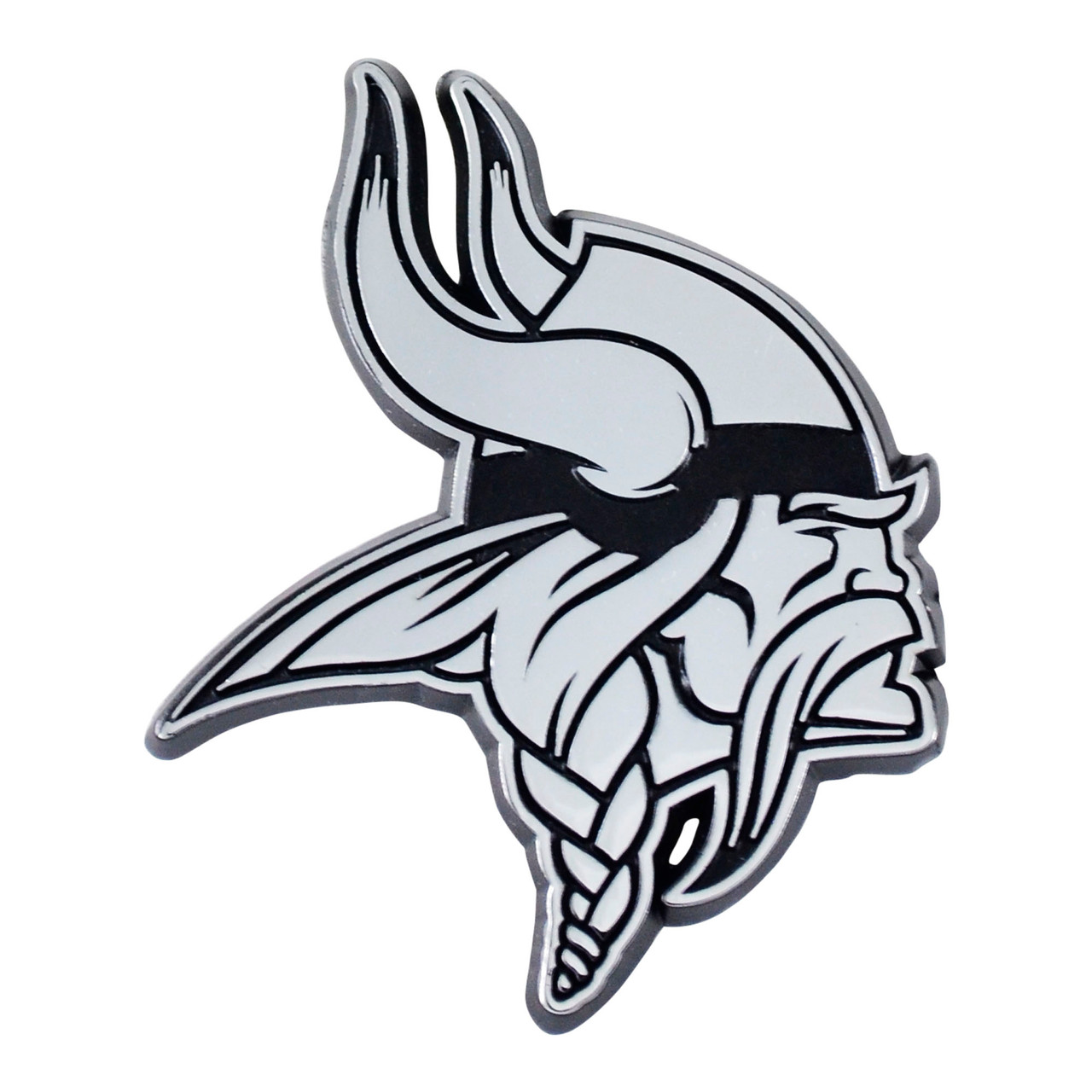 Minnesota Vikings Auto Emblem Premium Metal Chrome