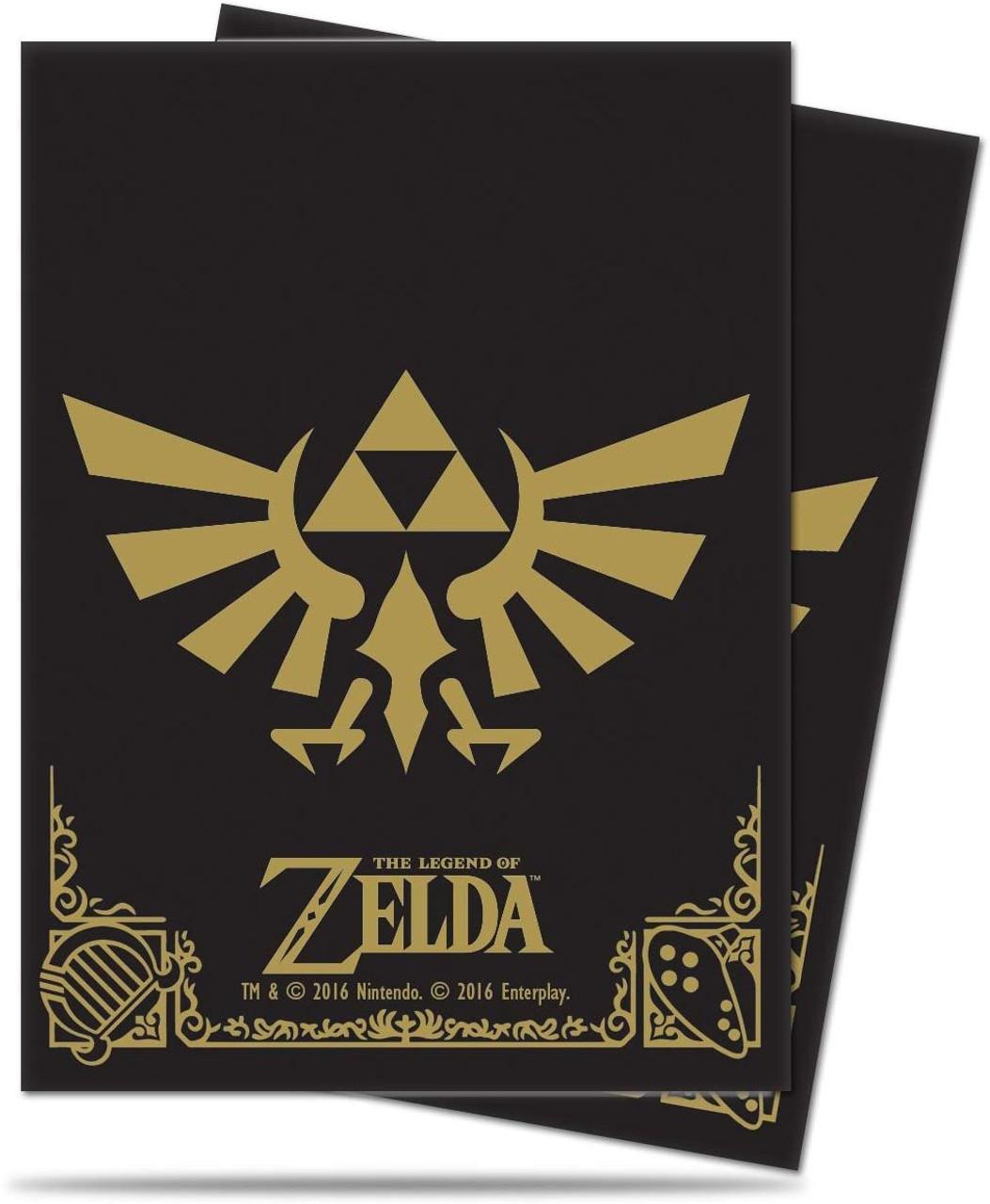 Deck Box - Legend of Zelda - Black & Gold - Special Order