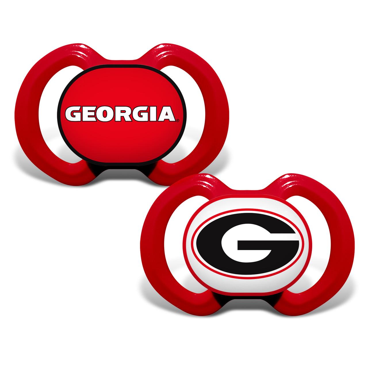 Georgia Bulldogs Pacifier 2 Pack