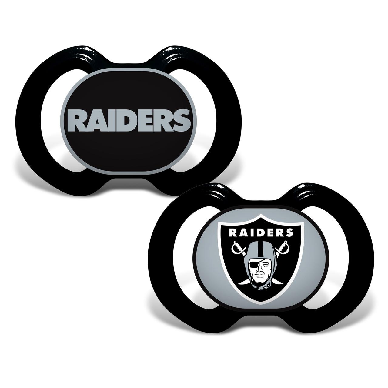 Las Vegas Raiders Pacifier 2 Pack