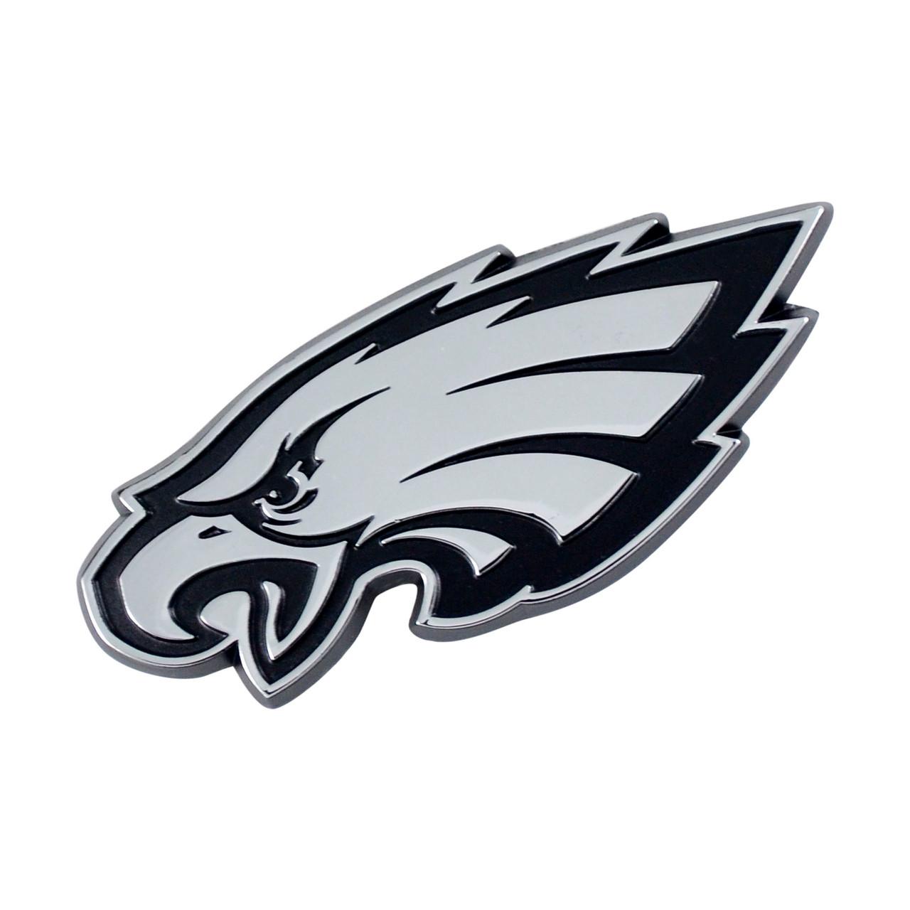 Philadelphia Eagles Auto Emblem Premium Metal Chrome