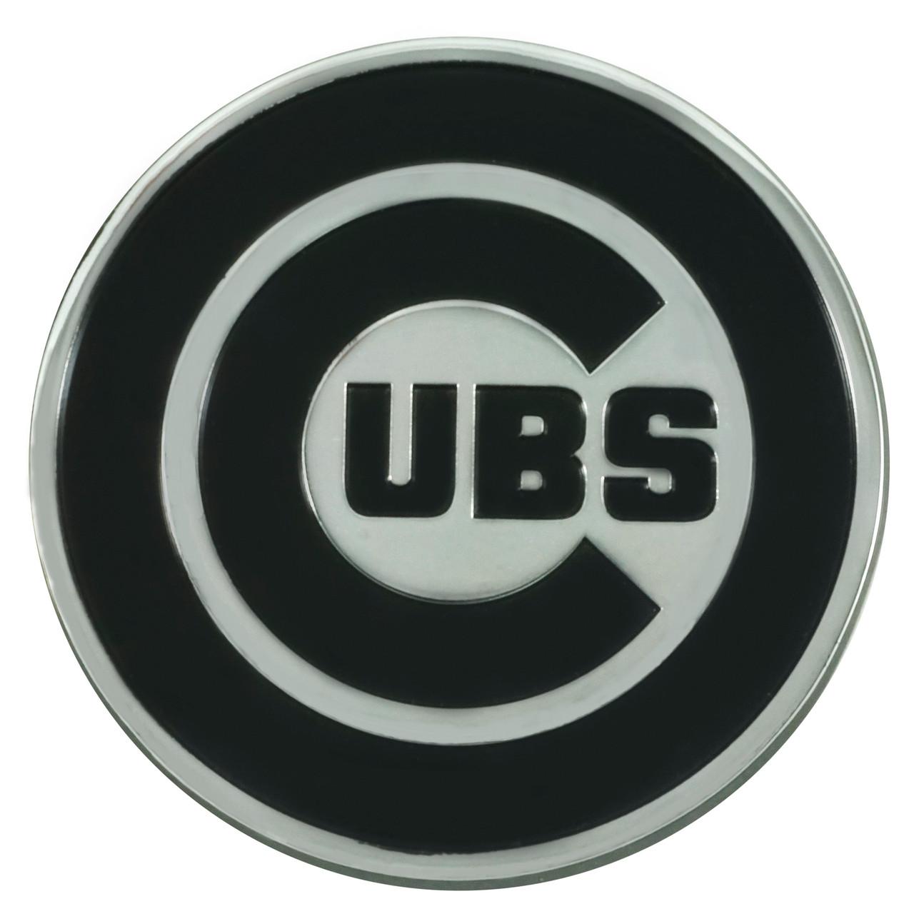 Chicago Cubs Auto Emblem Premium Metal Chrome