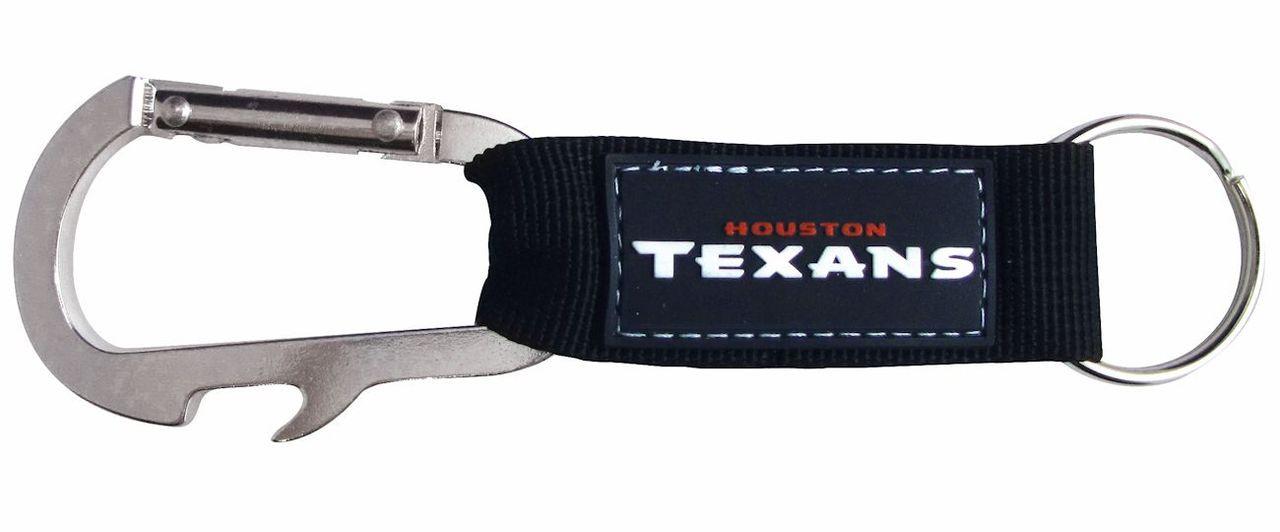Houston Texans Carabiner Keychain