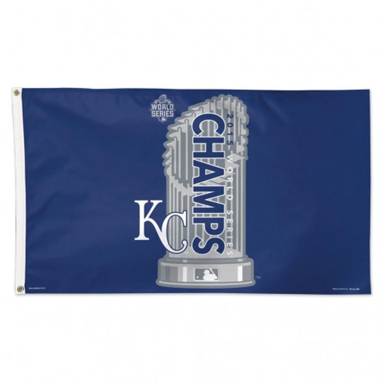 Kansas City Royals Flag 3x5 2015 World Series Champion
