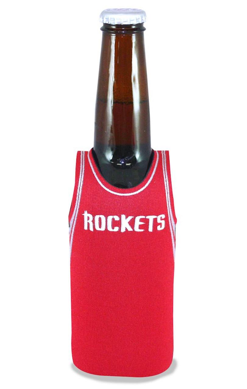 Houston Rockets Bottle Jersey Holder Red