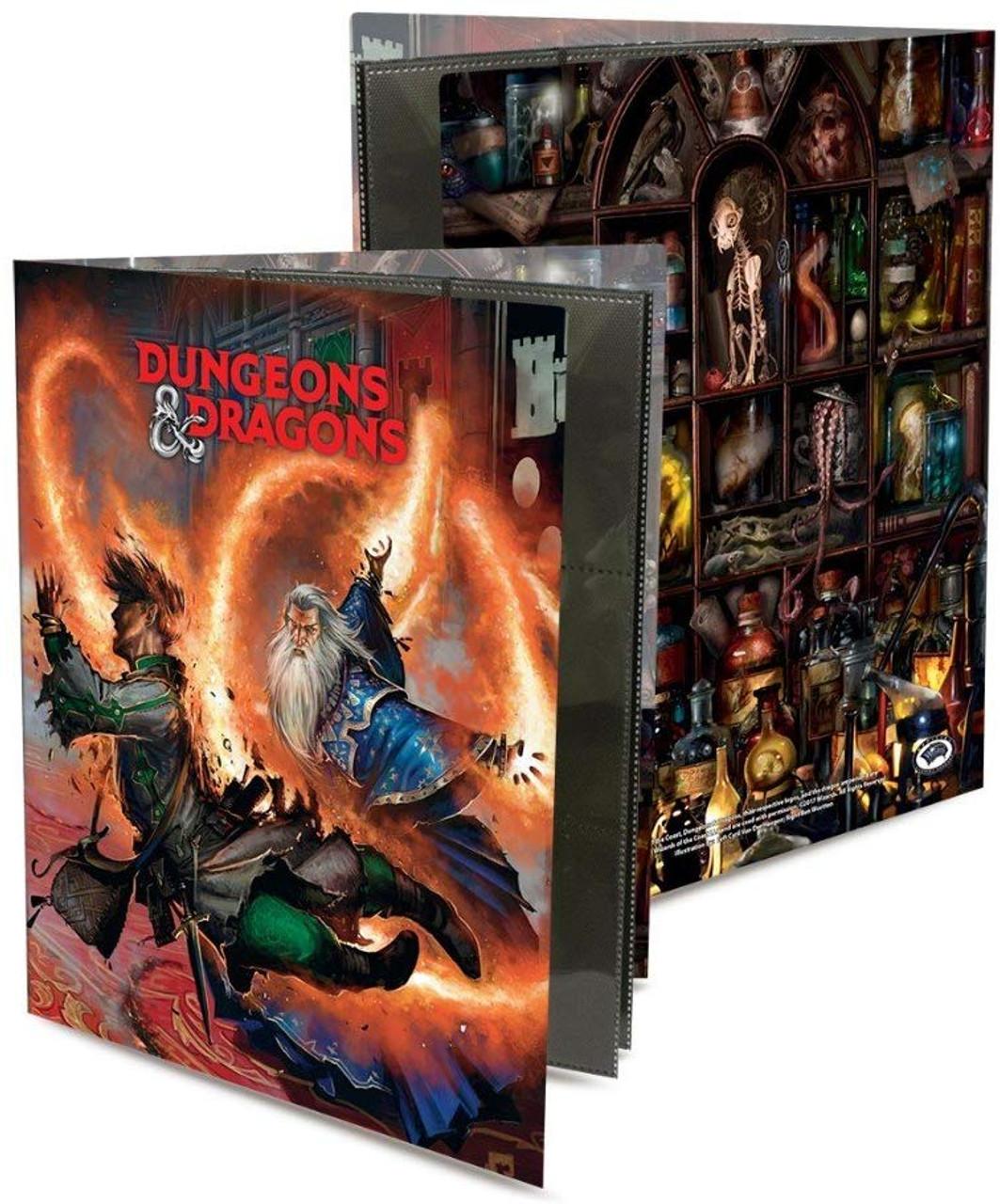 Dungeons & Dragons 9 Pocket Portfolio - Wizard - Special Order